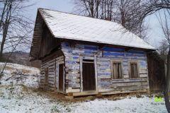 Opuszczony dom na trasie
