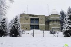 Obserwatorium Astronomiczne na Lubomirze w zimowej odsłonie