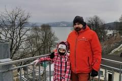 Za nami jezioro Dobczyckie