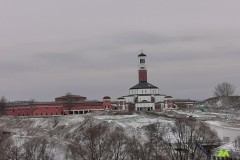 Widok na Centrum JP II z Sanktuarium