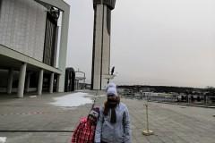 Wejście na wieżę widokową niestety zamknięte