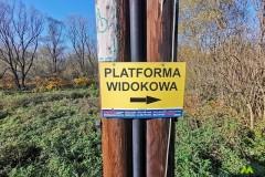 Platforma widokowa dobrze oznaczona