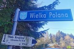 Początek z Wielkiej Polany