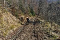 Pierwsze podejście na szlaku
