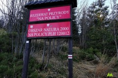 Wchodzimy do Rezerwatu Przyrody