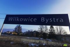 Początek wycieczki Wilkowice Bystra