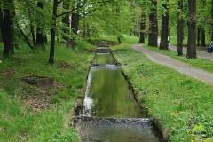 Kanały  na obrzeżach parku