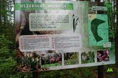 Wejście do Rezerwatu Muńcoł