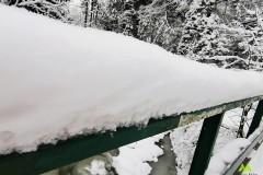 Niezła warstwa śniegu