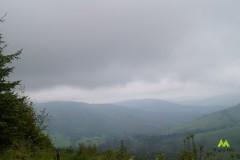 Ciemne chmury nad Beskidem Żywieckim