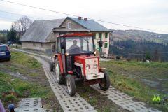 Traktorek na powrocie