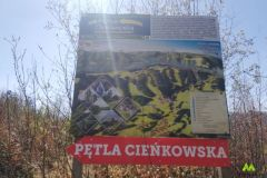 Początek pętli Cieńkowskiej