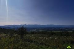 Widok na Karkonosze i Góry Izerskie