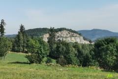 Widok na Górę Połom i Kamieniołom