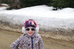 Radość Hani z powrotu w góry
