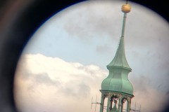 Wieża Katedry w powiększeniu